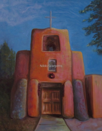 Southwest Church by Nikki Scarpitto