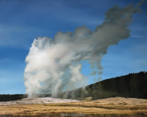 Old Faithful in September