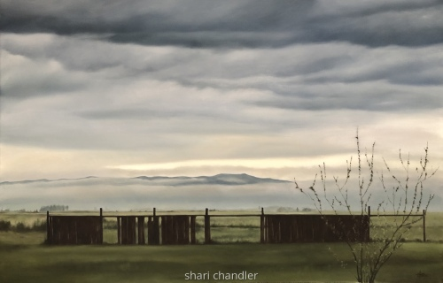 View from Moon Beam Lane by Shari Chandler