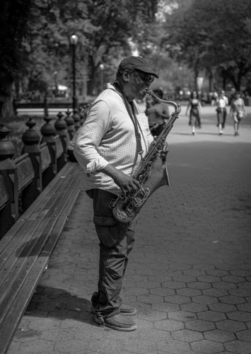 The Sax Man by steve conwell