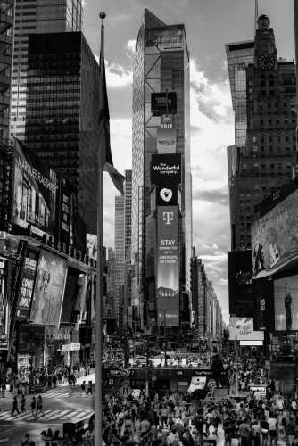 Times Square 1 by steve conwell