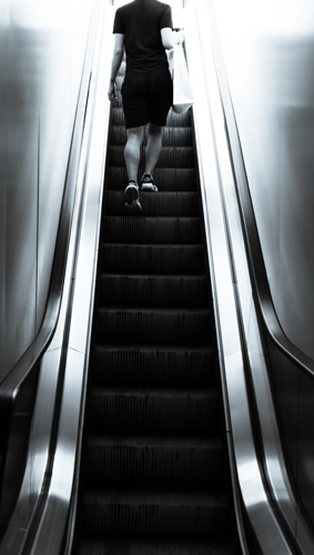 Stairway to Heaven - Lincoln Center by steve conwell