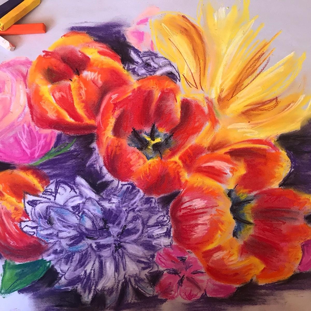 Bouquet Sketch (large view)