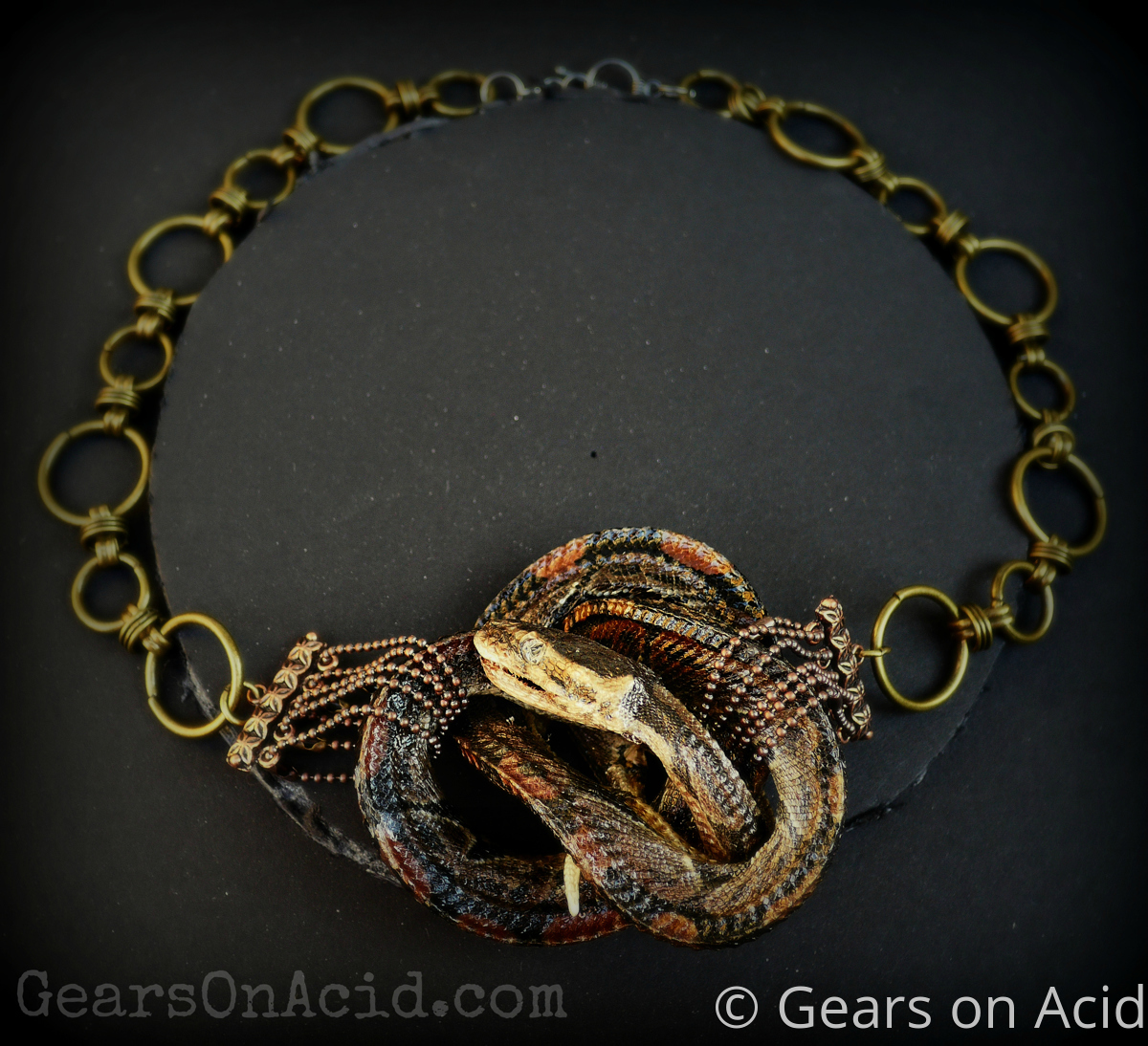 Ball Python Necklace (large view)