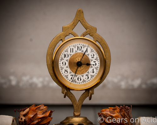Dance of Death and Life clock by Gears on Acid