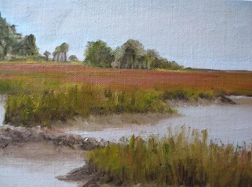 Marsh Study IV (large view)
