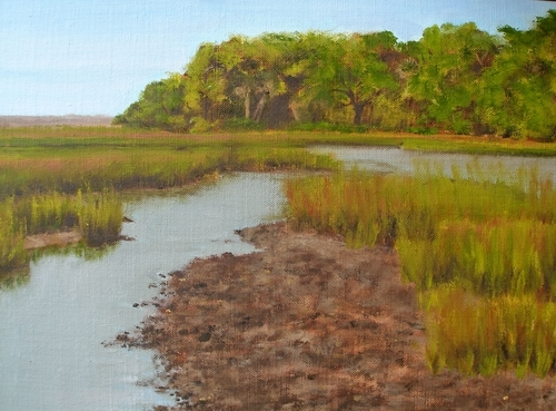 Marsh Study (large view)