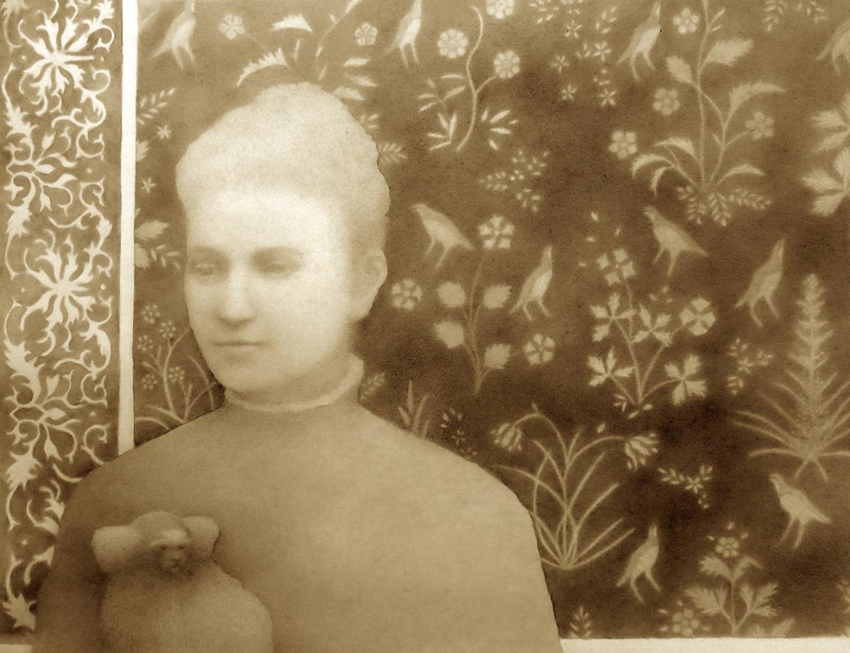 Marianne Jones Fairbanks and Marmoset (large view)