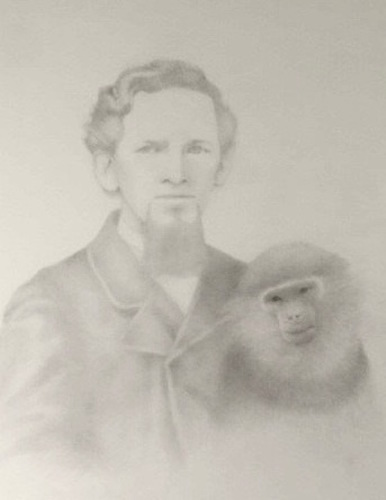 CHARLOTTE'S FATHER AND DOUC LANGUR