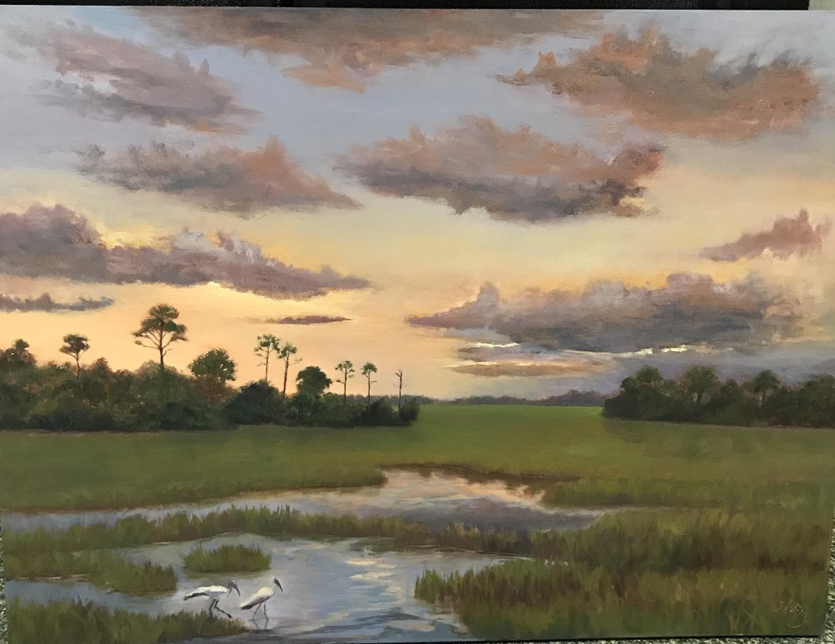 SUNSET WALK (large view)