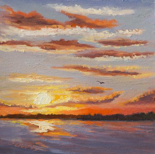 Sunset Flight (large view)