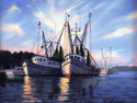 """""""CHERRY POINT SHRIMPERS"""" (thumbnail)"""