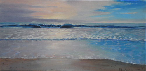 """""""THE PERFECT WAVE, SEABROOK'S NORTH BEACH"""""""