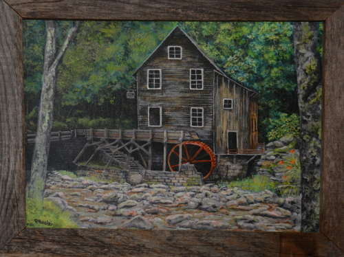 """""""THE OLD MILL"""" NEW ENGLAND"""
