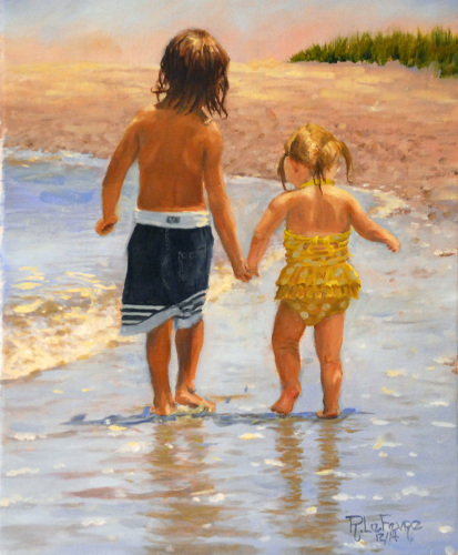 """""""LET ME TELL YA ABOUT THE BEACH, SIS"""" by SEABROOK ISLAND ARTIST GUILD"""