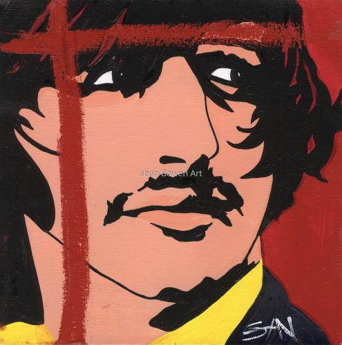 """Starky"" Ringo Starr by Sean Bowen Art"