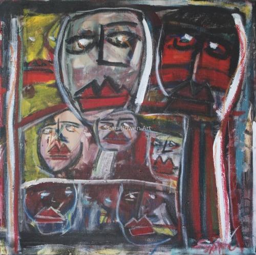 """""""Ghost Dance"""" by Sean Bowen Art"""