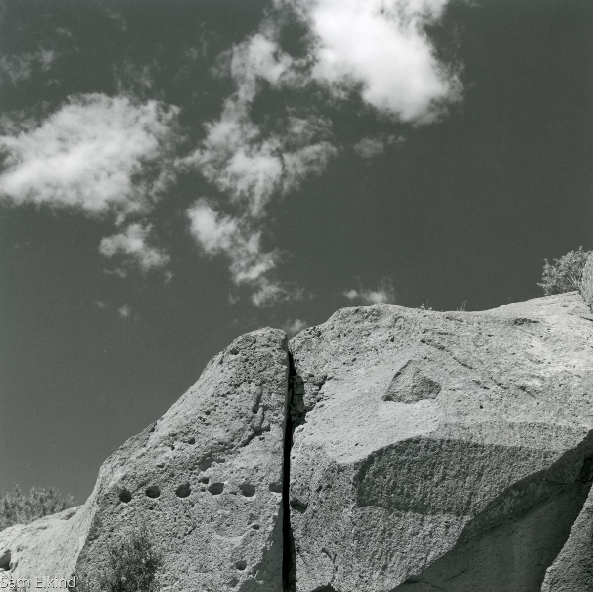 Tsankawi Sky (large view)