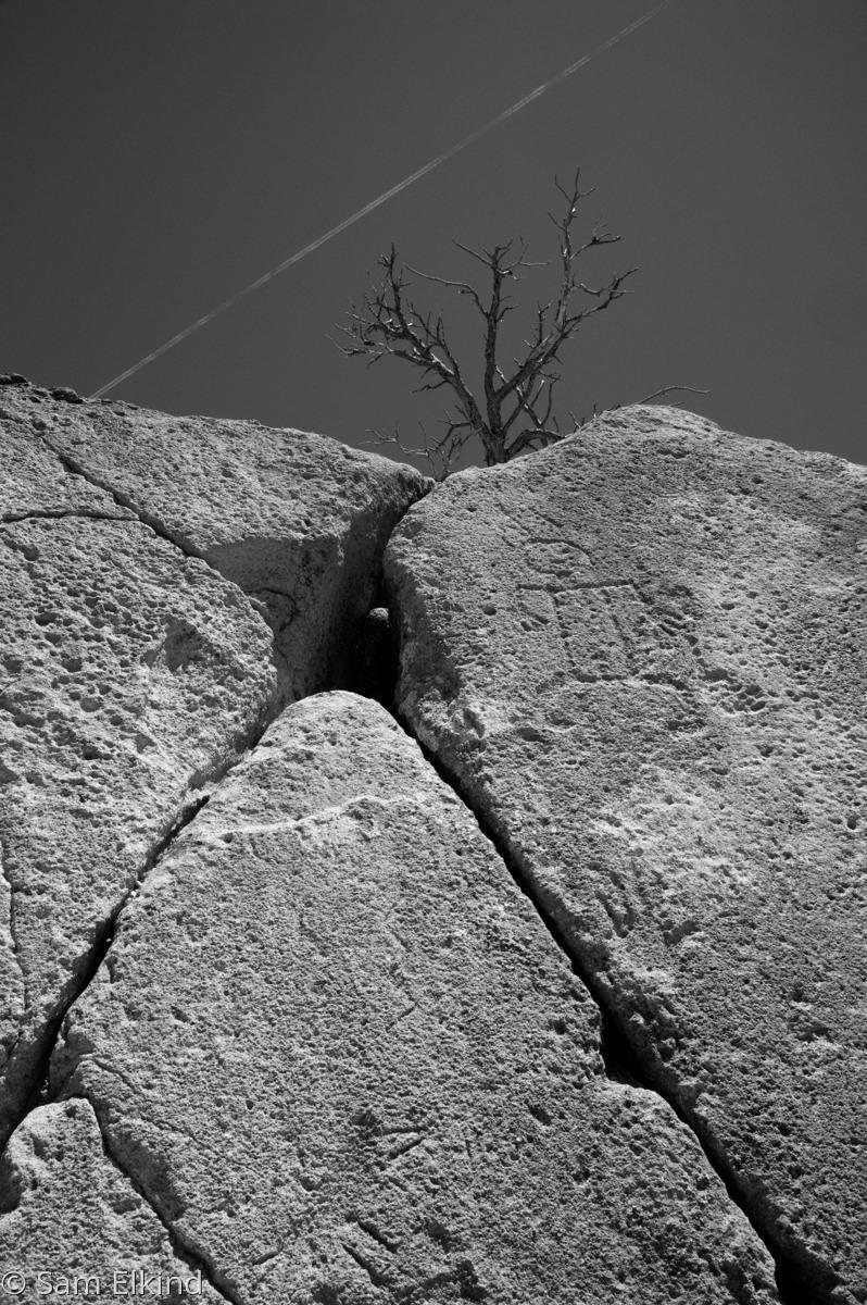 Contrail, Petroglyphs (large view)