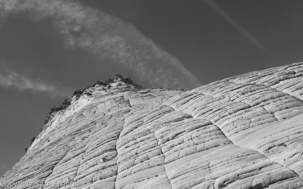 Crossbedding with Contrails (large view)