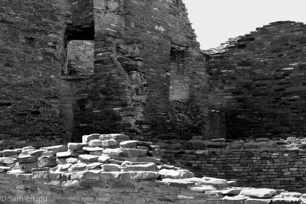 Wall Ripples - Pueblo Bonito (large view)