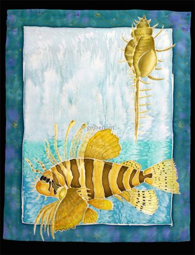 Lionfish Quilt