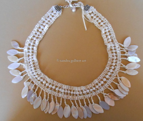 White Drop Necklace