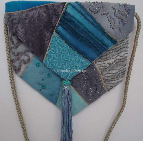 Silk Bag - blue