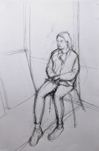 Study for a Portrait of Alice, 2015