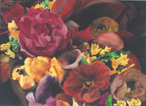 Cornucopia by Sylvia Hamilton Goulden