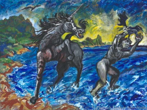 Herakles and the Unicorn