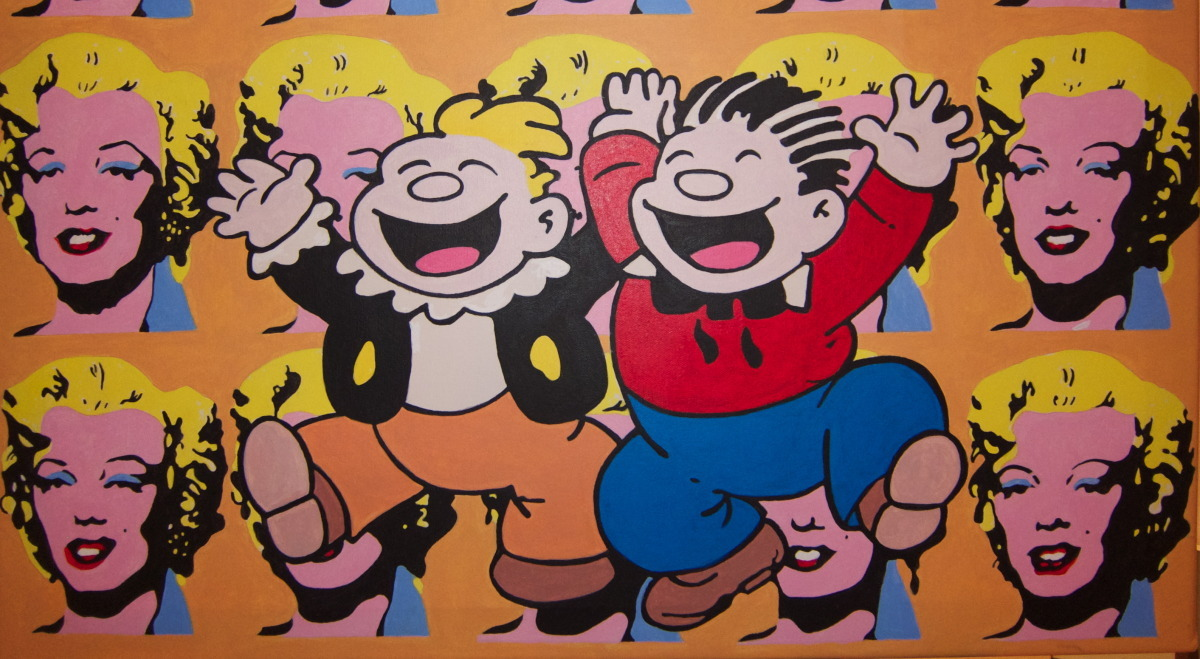Katzenjammer Kids (after Warhol and Knerr) (large view)