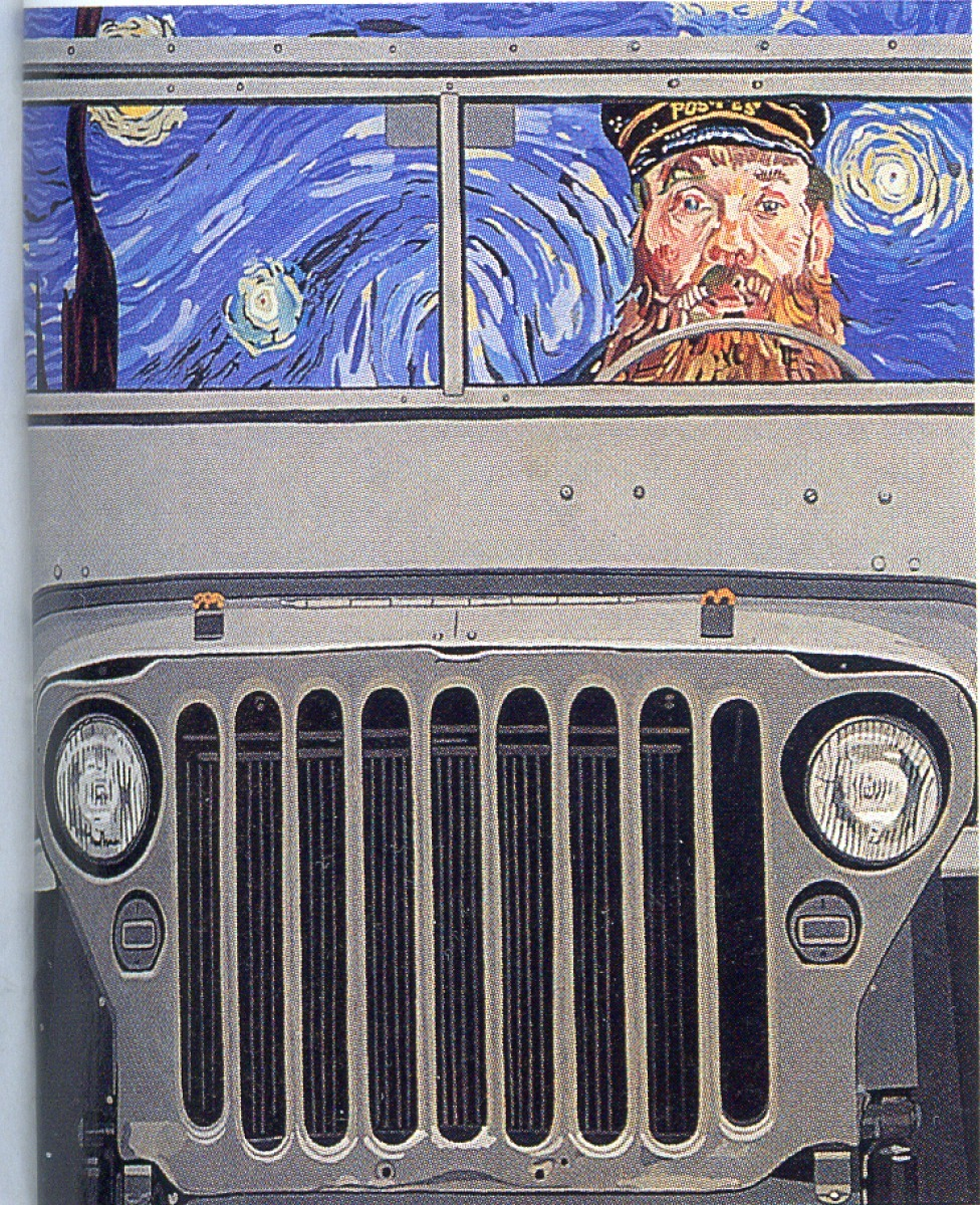 Jeep (after Van Gogh) (large view)