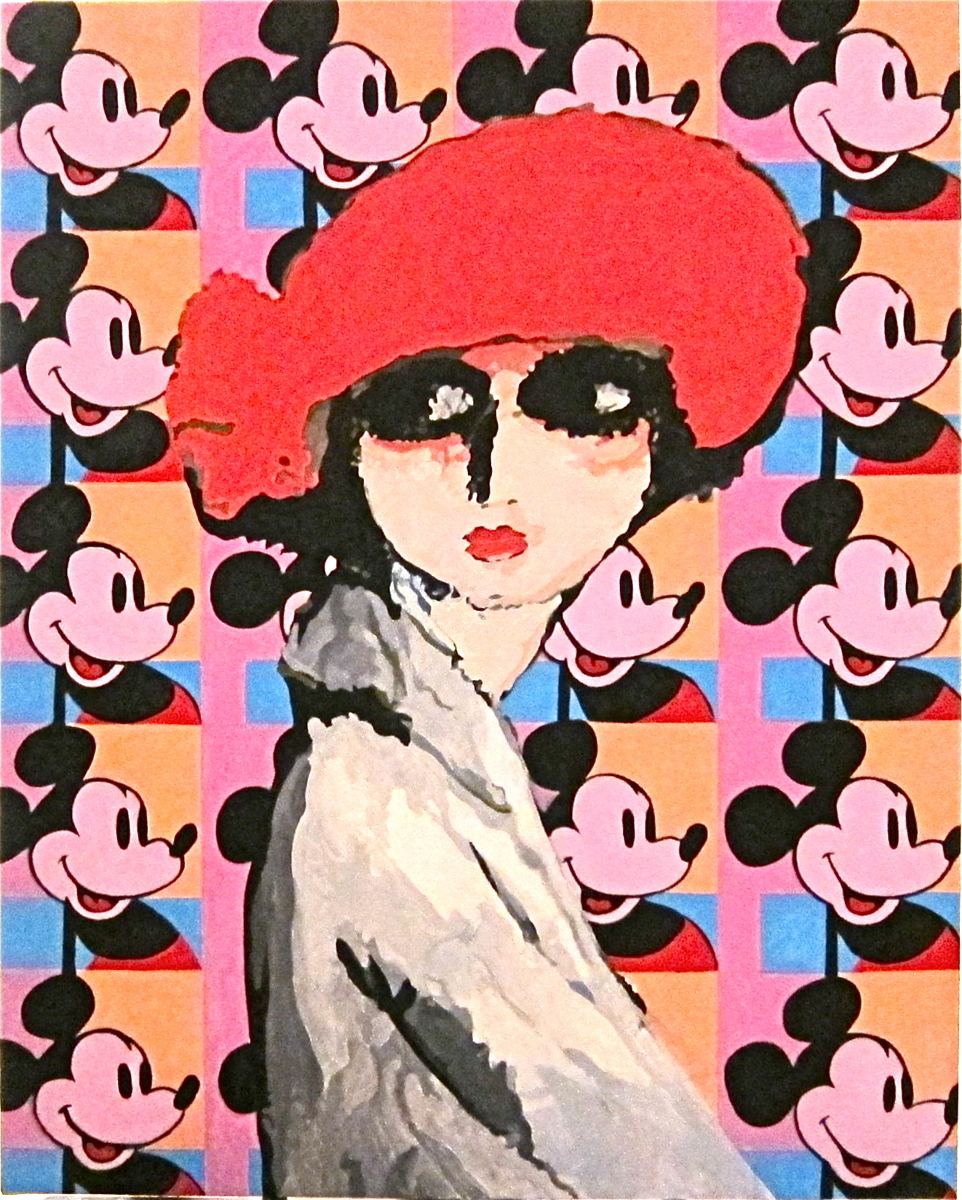 Mickey (after van Dongen and Warhol) (large view)