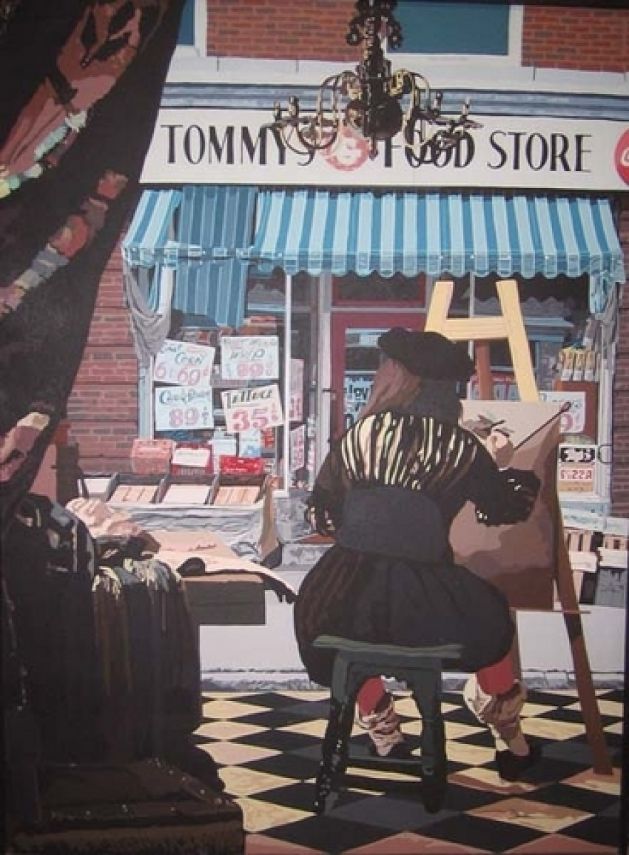 Tommy's (after Vermeer) (large view)