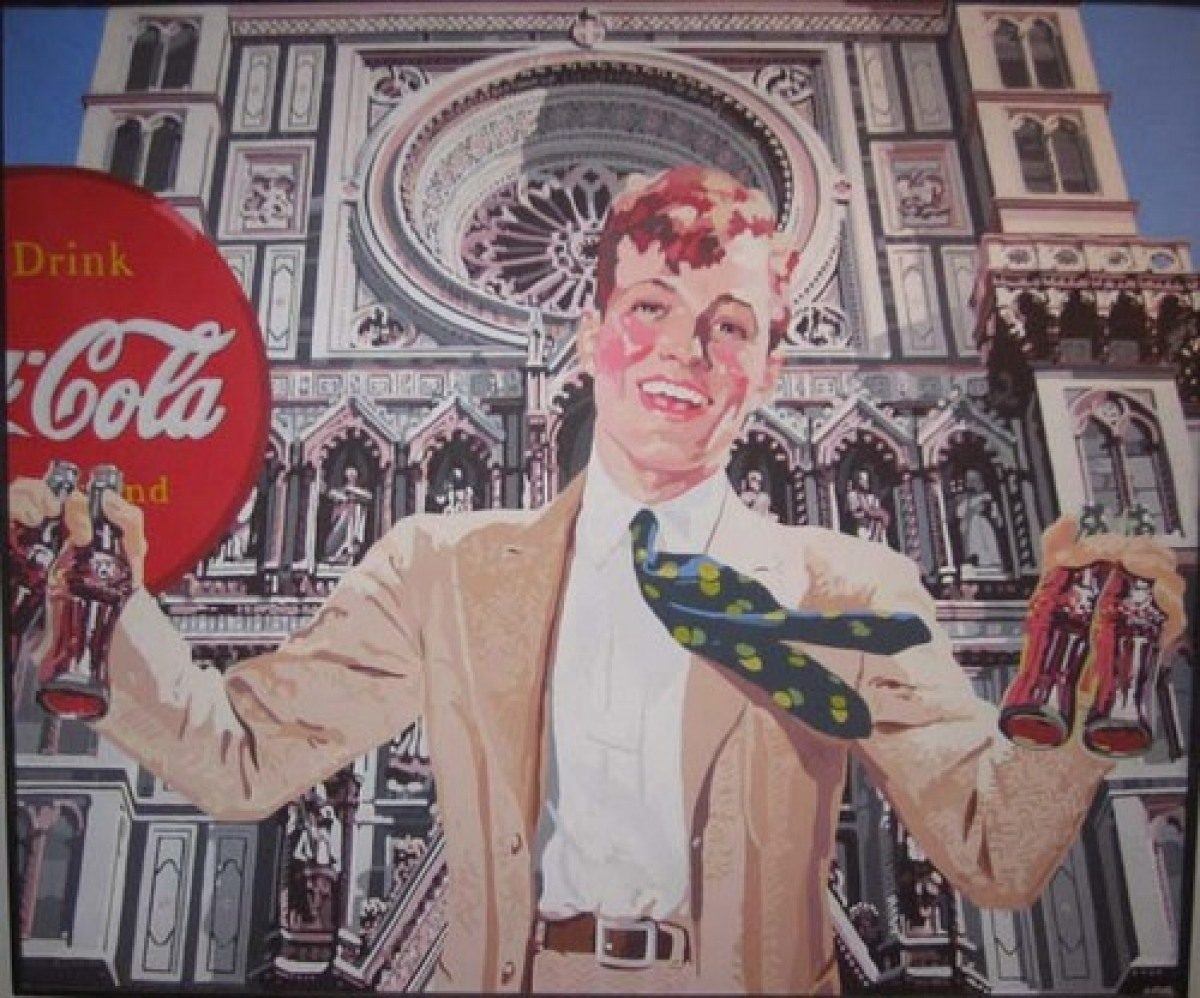Coke Ad (after Florence Duomo & National Geographic) (large view)