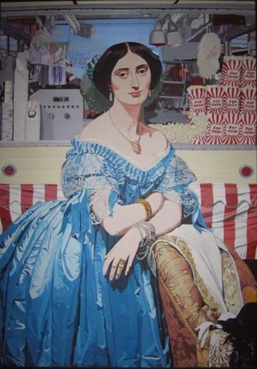 Popcorn Lady (after Ingres) (large view)