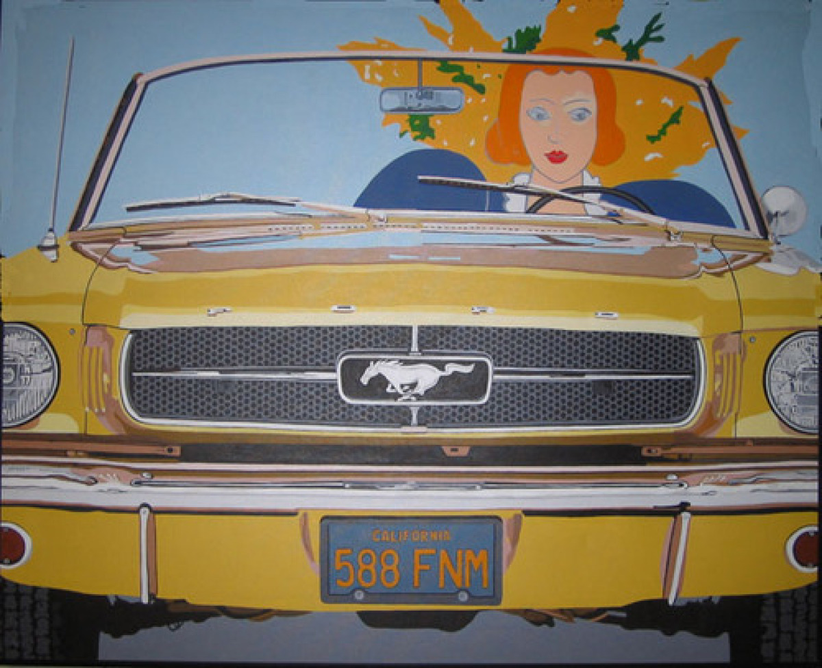 Mustang (after Matisse) (large view)