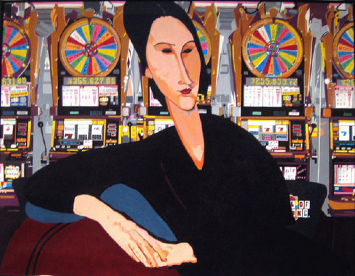 Las Vegas (after Modigliani) (large view)
