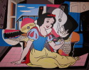 Snow White (after Picasso & Disney) (thumbnail)