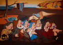 Seven Dwarfs (after Dali and Disney) (thumbnail)