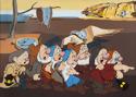 Seven Dwarfs (after Dali and Disney) (thumbnail)