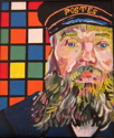 Cube (after Van Gogh) (thumbnail)
