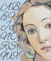 Alphabet (after Botticelli) (thumbnail)