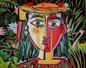 Jungle (after Picasso and Rousseau) (thumbnail)