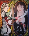 Mirror (after Picasso and Renoir) (thumbnail)