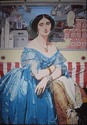 Popcorn Lady (after Ingres) (thumbnail)