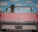 Pink Cadillac (after Magritte) (thumbnail)