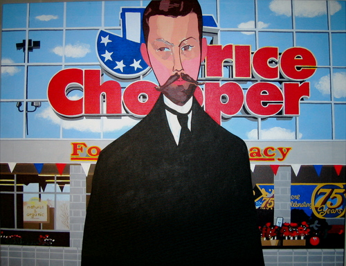 Price Chopper (after Modigliani) (large view)
