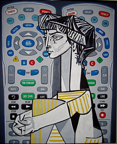 Remotes (after Picasso) (large view)